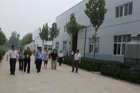 黄岛区科技局考察山东碳为石墨烯公司