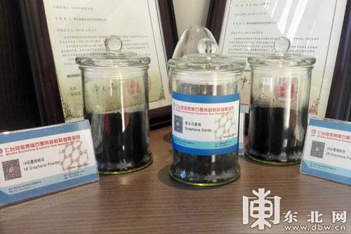 金秋走龙江 依托优质资源打造石墨烯新能源产业