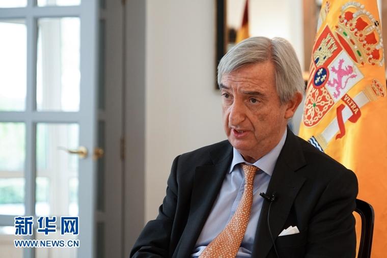 西班牙驻华大使:西班牙的石墨烯产量居全世界第四位