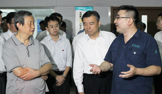 中共中央政治局委员、国务院副总理马凯一行来第六元素考察