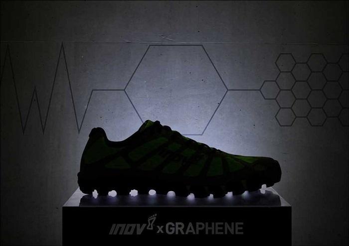 inov-8开发石墨烯跑鞋:提供极强的抓地力
