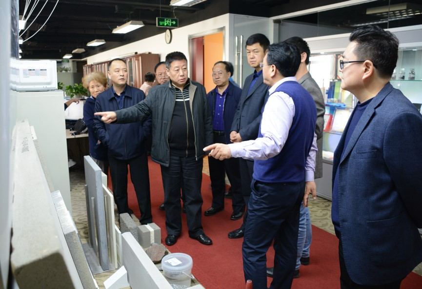 甘肃省公路航空旅游投资集团来访丰域烯碳集团