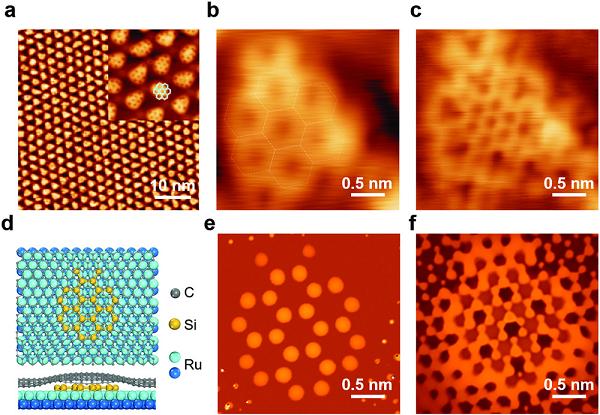 物理所高鸿钧、杜世萱AM: 石墨烯/硅烯范德华异质结构中的稳定硅烯