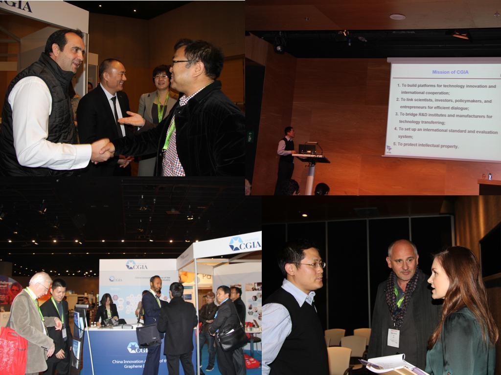石墨烯联盟率中国代表团参加西班牙2015石墨烯大会