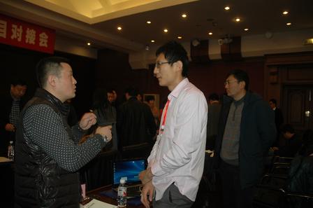 我组陈成猛博士应邀参加石墨烯军工应用技术研讨并与相关用户进行友好会谈