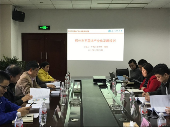 市工信委召开柳州市石墨烯产业化发展规划评审会