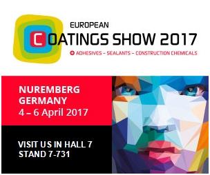 常州第六元素材料科技股份有限公司首次参加欧洲涂料展