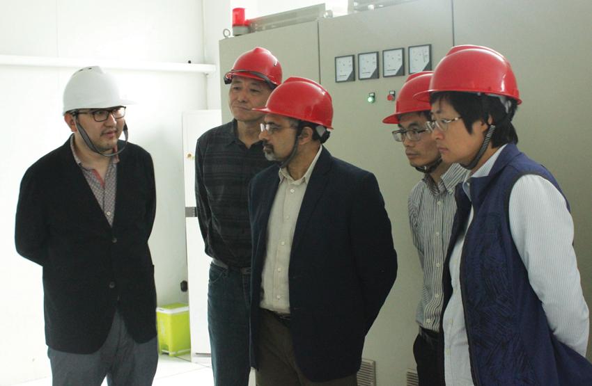 霍尼韦尔贵宾参观常州第六元素材料科技股份有限公司