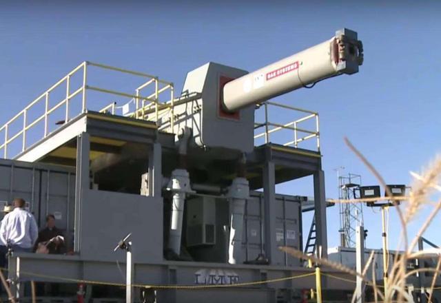 中国在内蒙古测试电磁炮:炮长33.5米 可击穿10米厚混凝土