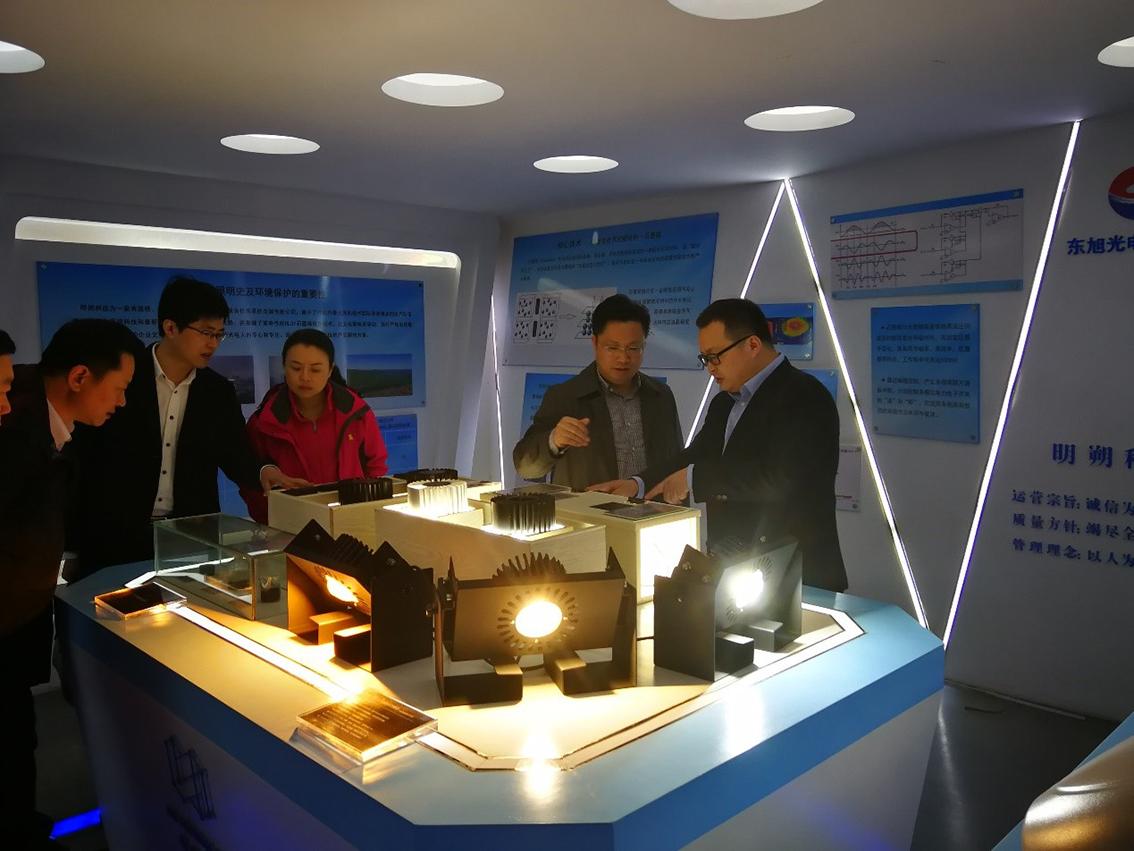 黔南州:杨从明副州长带队赴浙江湖州明朔光电科技有限公司考察