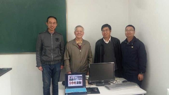 石墨烯研究团队到北京林业大学开展交流活动
