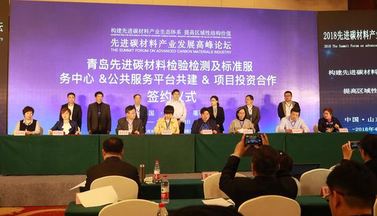 """018先进碳材料产业发展高峰论坛在莱西市成功举办"""""""