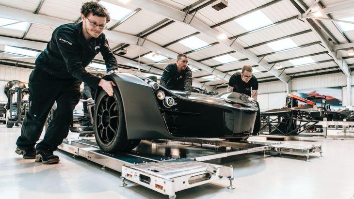 英国超跑汽车公司开发石墨烯增强碳纤维复合材料应用
