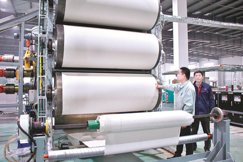 康普打造绿色印刷橡皮布研制基地