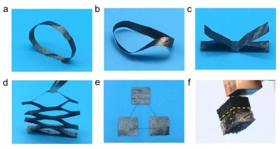 原位电热法焊接石墨烯宏观组装材料