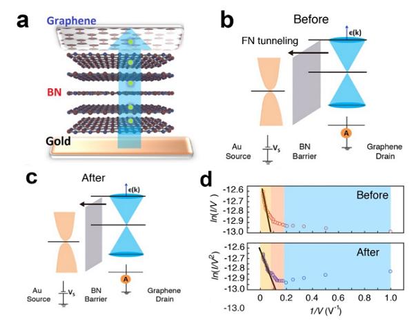 普渡大学Gary J. Cheng和华中科技大学叶镭 Nano Letters: 激光压印调谐石墨烯 – 氮化硼莫尔超晶格动态层间耦合