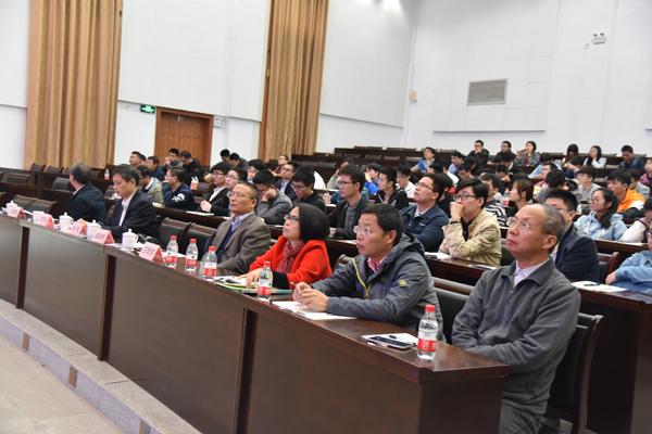 中国科学院郭万林和成会明院士来桂林理工大学讲学