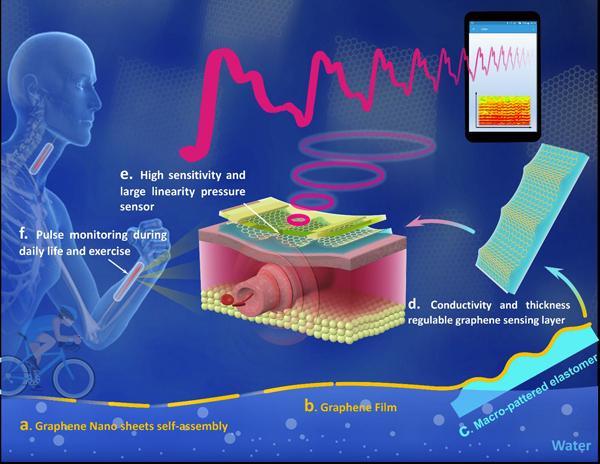 宁波材料所在柔性可穿戴电子皮肤方面取得系列进展