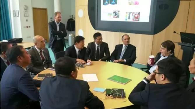 圣泉集团受邀参加英国曼彻斯特大学石墨烯及其他二维材料应用项目成果转化交流会
