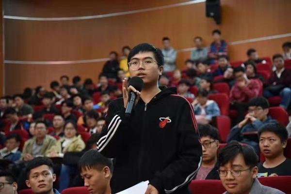 广西举办诺奖大师与院士专家进校园报告会在桂电举行