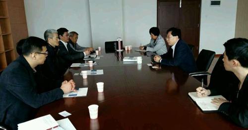 台湾志阳科技与中纺院共青分院开展合作交流