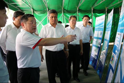 深圳市委书记马兴瑞一行莅临本征方程参观访问