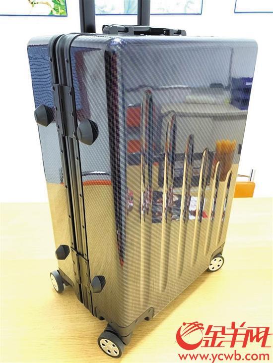 众多塑化高科技产品将亮相第11届加博会 空拉杆箱可以承重超150KG