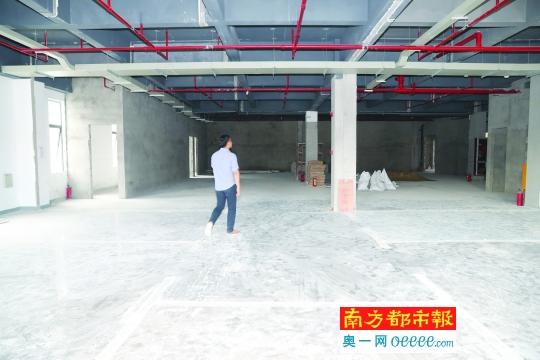 石墨烯示范基地正建设装修 预计8月交付使用