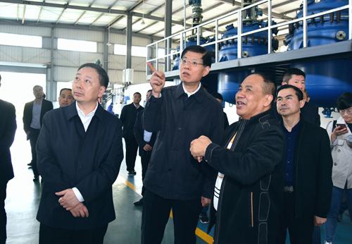 四川省政协副主席崔保华调研大英聚能科技发展有限公司