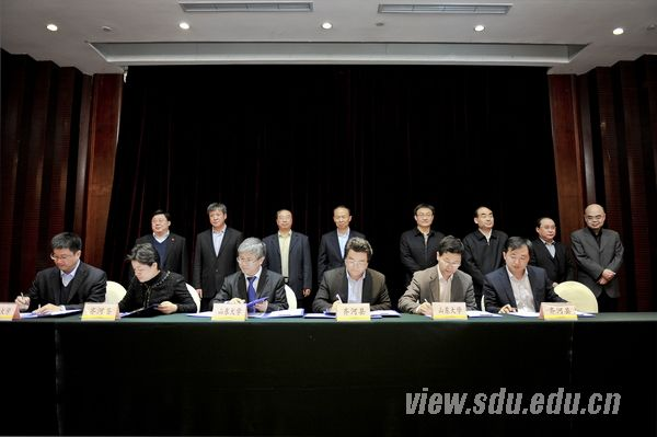 山东大学与德州市人民政府深化合作协议签约仪式举行