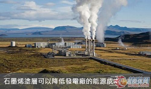 石墨烯涂层有望提高发电机冷凝器热传递效率