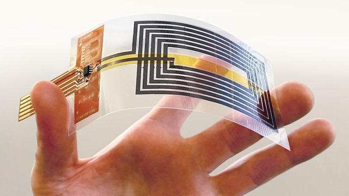 石墨烯NFC天线问世,折叠万次依旧能用