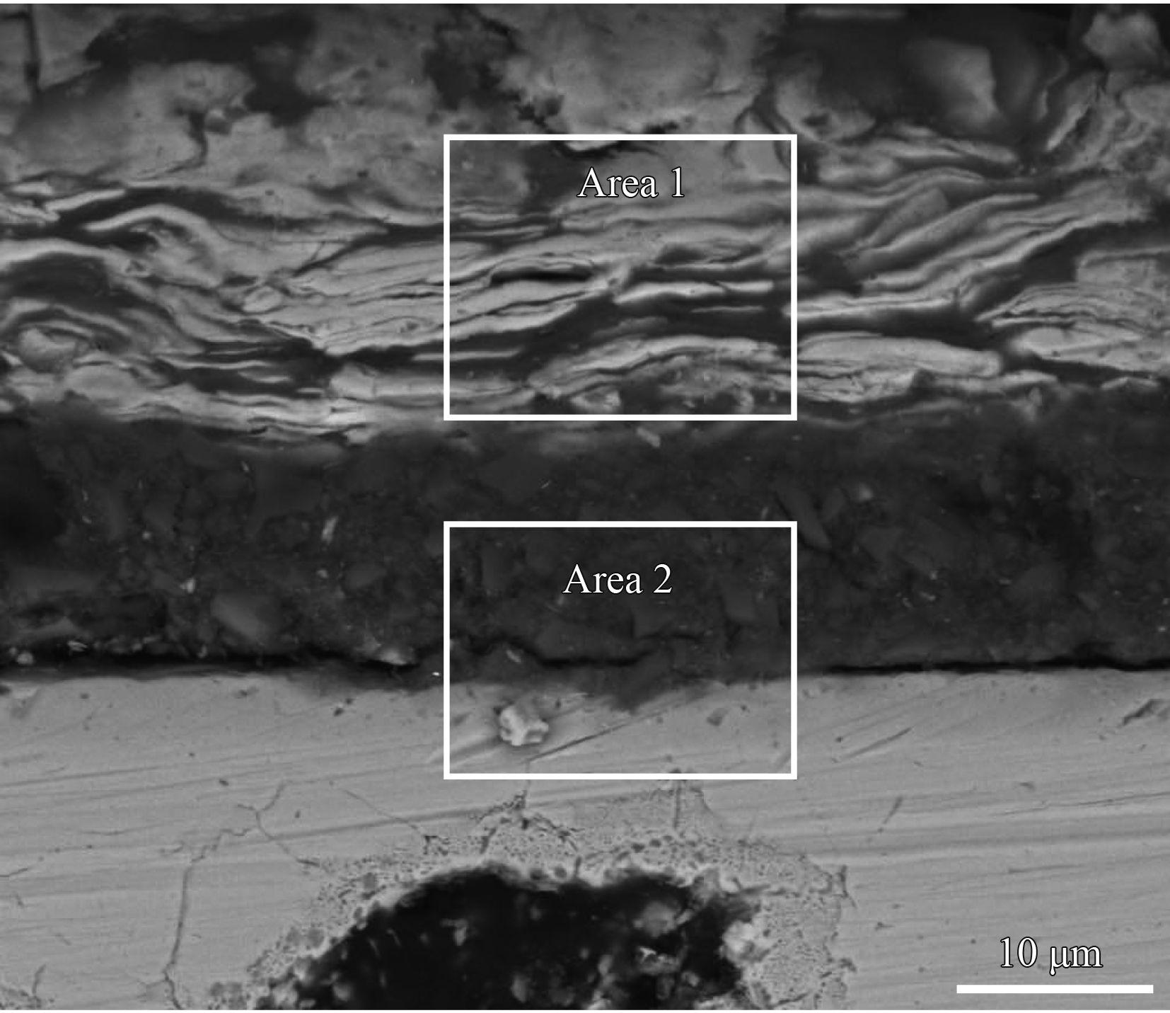 石墨烯改性无铬达克罗涂层的组织及耐腐蚀性能